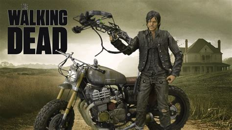 Amc The Walking Dead Daryl Dixon Custom Bike From