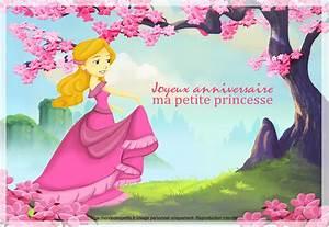 Theme Anniversaire Fille : joyeux anniversaire ma petite princesse 174 joyeux ~ Melissatoandfro.com Idées de Décoration