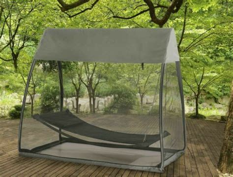 Hanging Hammock Tent by Hammock Tented Covered Outdoor Swing Bed Hanging Tent