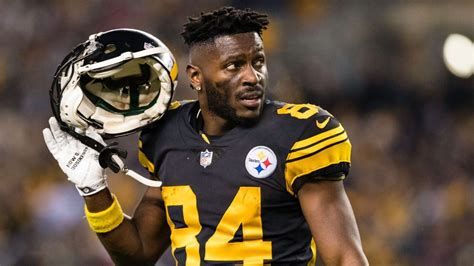 Antonio Brown Requests Trade from Pittsburgh Steelers ...