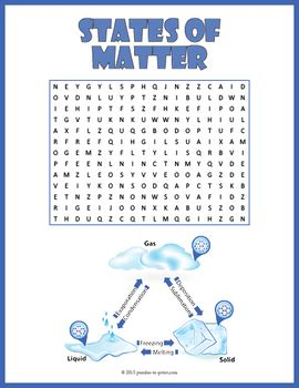 states  matter word search  puzzles  print tpt