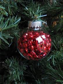 sew many ways fillable glass christmas ornaments great gift idea