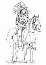 Native Coloring American Adult Horse Pages Adults Indian Chief Printable Sheets Americans Drawing Colouring Horses Books Justcolor Magnificient Indians Southwestern sketch template