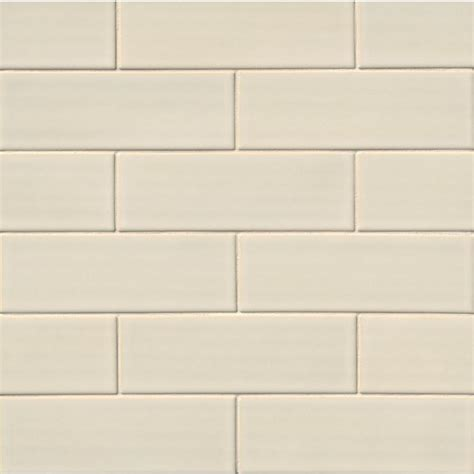 ceramic wall tile ms international antique white 4 in x 12 in handcrafted glazed ceramic wall tile 2 sq ft