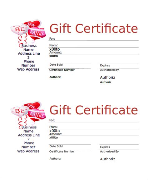 images  fill   gift certificate template word