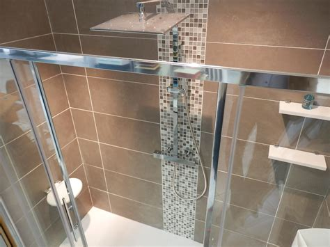 mosaique salle de bain beige