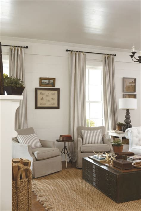 Southern Living Family Room Photos by Southern Living Idea House 2012 Emily Interiors