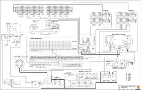 Elgin Wiring Schematic by Hammond B3 Wiring Diagram Phasebook Org
