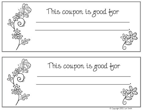 boyfriend coupon printable template coupon book ideas for husband blank love templates
