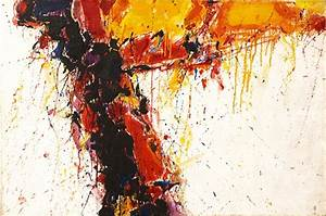 Sam Francis - Study for Moby Dick, 1958, oil on canvas