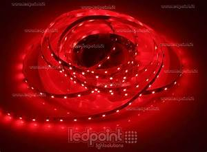 Ruban Led Rouge : ruban led rouge 5m 60leds m 3528 12v ledpoint s r l ~ Edinachiropracticcenter.com Idées de Décoration