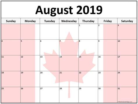 august calendar canada august augustcalendar
