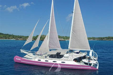 Private Catamaran Cruise Bali aneecha bali luxury catamaran sailing cruises bali lembongan