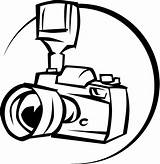 Camera Cartoon Cliparts Coloring sketch template