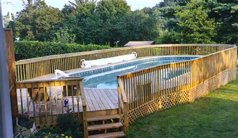 above ground oval pool deck pictures oval above ground pool with deck pool design ideas