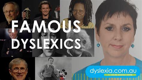 Dyslexia  Famous Dyslexics  Youtube