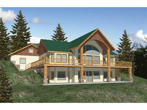 Walk Out Ranch House Plans by Designer Master Bedroom Waterfront House Plans With
