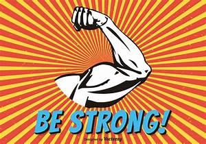 Biceps Flex Arm Vector Illustration - Download Free Vector ...
