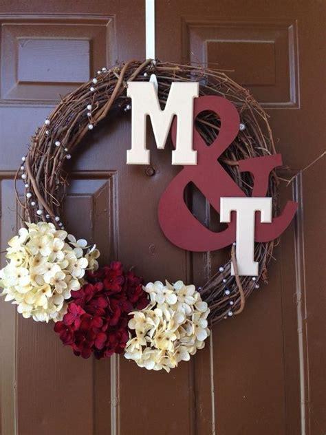 wedding wreaths ideas  pinterest wedding door