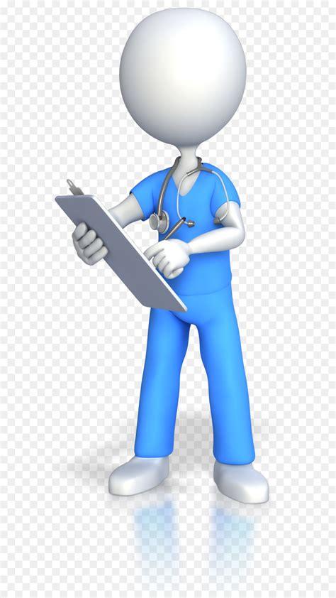 nursing registered nurse stick figure animation clip art