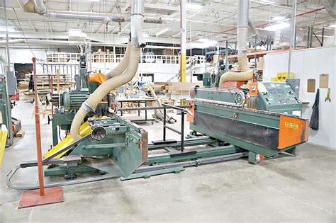 mereen johnson  double  tenoner woodworking equipment