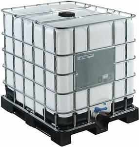 Citerne de stockage 1000L (Pal:plastic) Rubrique(Fosse Citerne)