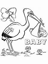 Stork Coloring Pages Storks Printable Pets Secret Ecoloringpage Birds Recommended sketch template