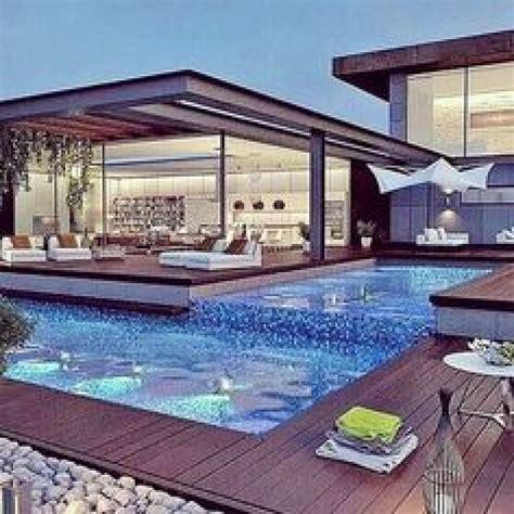 precioso casas modernas  piscina pin de raquel