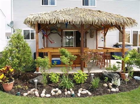backyard tiki hut ideas tiki backyard ideas marceladick com