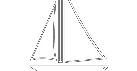 Sailboat Outline Template by Sailboat Applique Template Pdf Google Drive