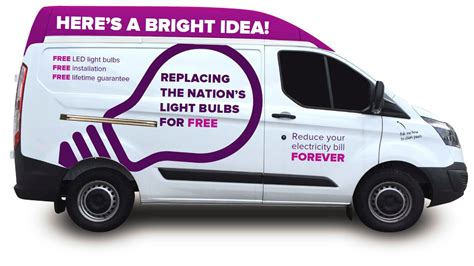 utility warehouse free light bulb replacement service