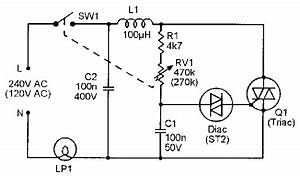 triac principles and circuits part 2 nuts volts With 120v ac lamp dimmer