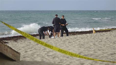 man  dead  hollywood beach  assistant
