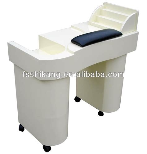 modern design salon furniture white nail tables for sale