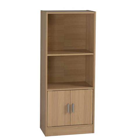 2 Shelf Bookcase by Cyrus 2 Door 2 Shelf Bookcase Decofurn Factory Shop