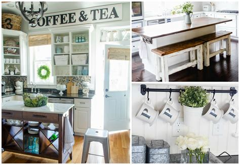 Fixer Kitchen Decor Ideas 11 diy farmhouse kitchen ideas for your fixer home