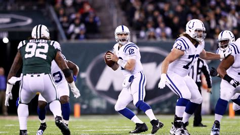 colts  jets time television radio   schedule