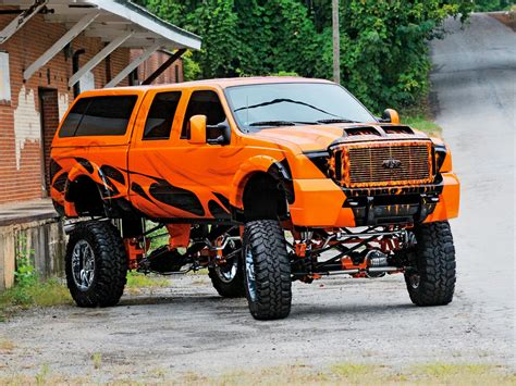 custom ford    road truck  road wheels