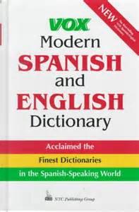 Spanish English Dictionary Online