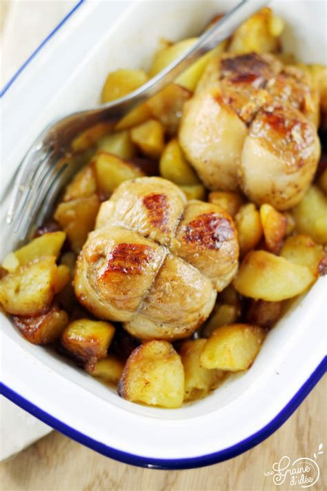 cuisiner des paupiettes de porc paupiettes de porc et pommes de terre saut 233 es une graine d id 233 e