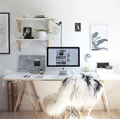 treteau bureau ikea how to create the black and white office on a