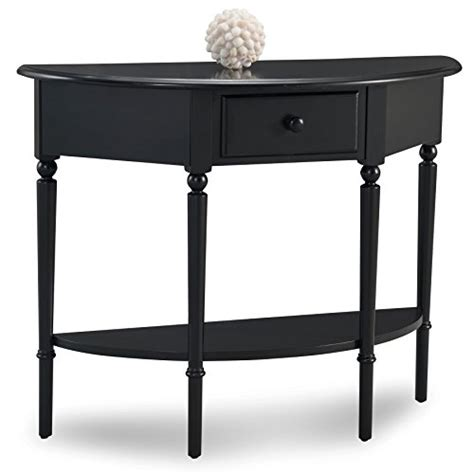 leick mission hall console table slate black compare price to black hall table tragerlaw biz