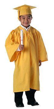adorable kindergarten graduation cap gown tassel set 551 | 2571e721e07b92e84f9ea4a016ba4d47