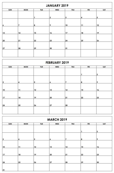january february march  quarter   printable