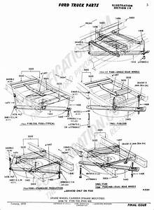 Ford Truck Technical Drawings And Schematics - Section D