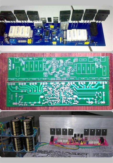 power amplifier circuit apex  electronics