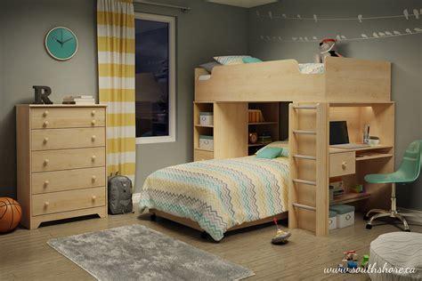 bedroom interesting bed desk combo  modern combination