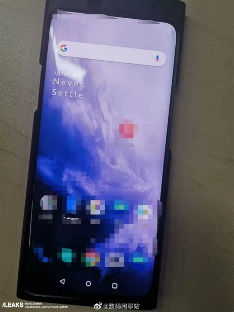 alleged oneplus 7t pro live photos leaked no significant change gizmochina