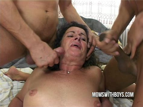 Hot Old Bitch Fucks Stepson And Friend Sex Video On Tube