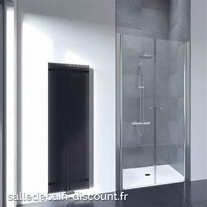 flair portes de douche battantes epaisseur 6mm 90x195cm With portes douche battantes